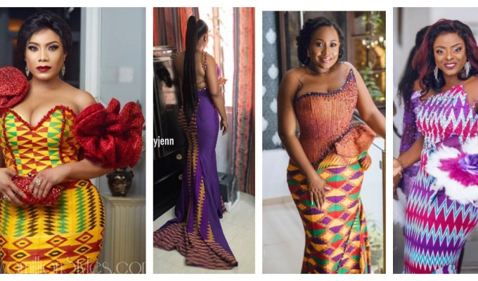 Giving Ghana A Shoutout With 8 Fab Kente Styles For Brides