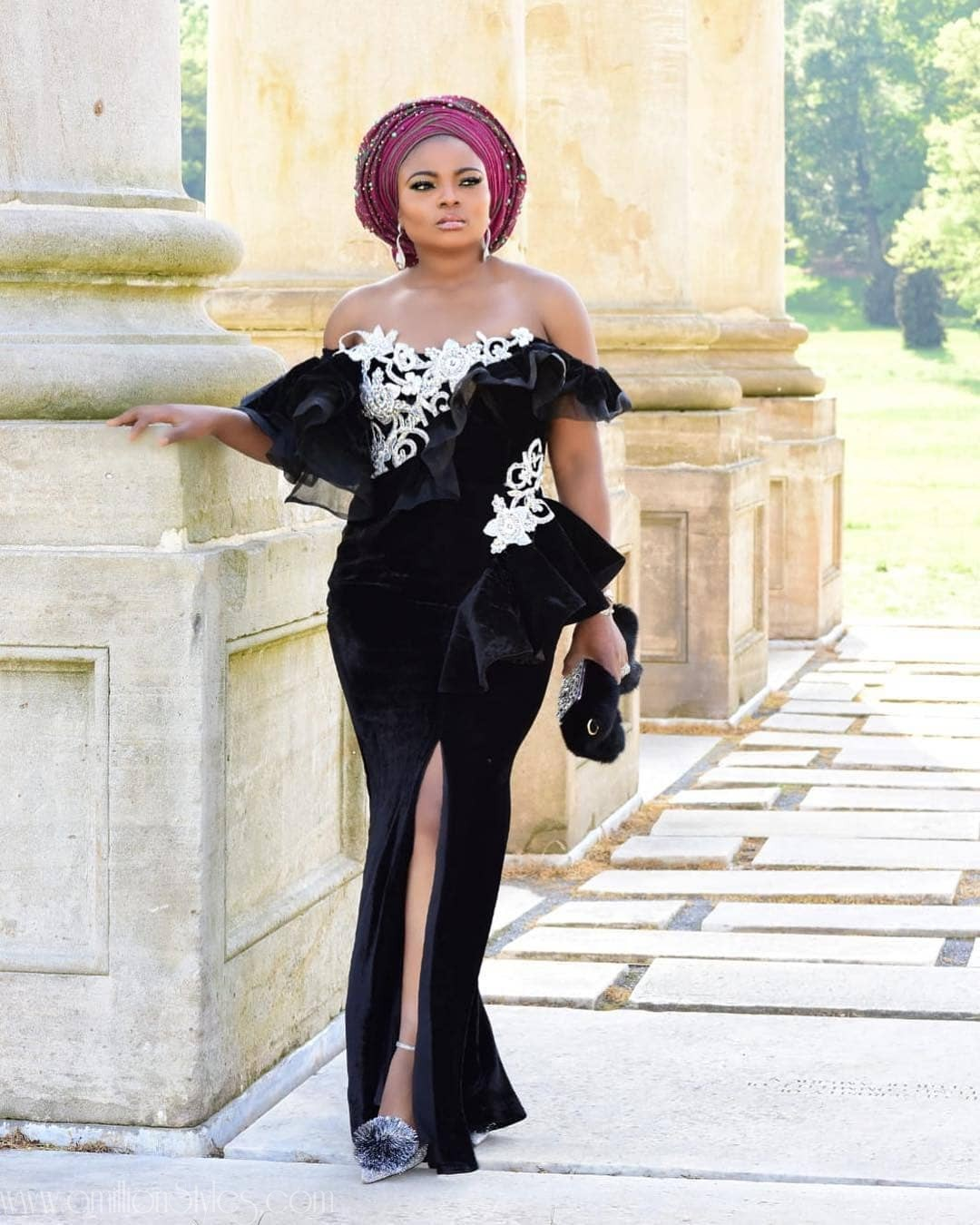 Latest Lace Asoebi Styles Volume 38