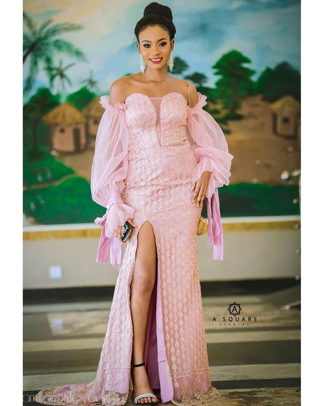 Exclusive Lace Asoebi Styles Volume 50