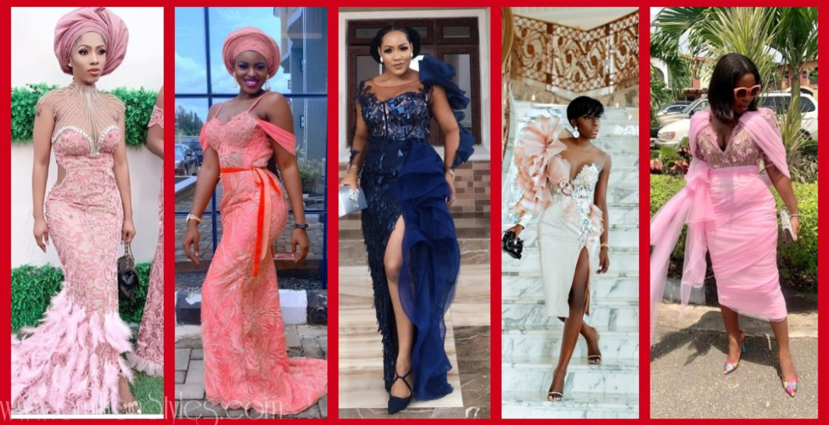 Latest Nigerian Lace Styles and Designs-Volume 7