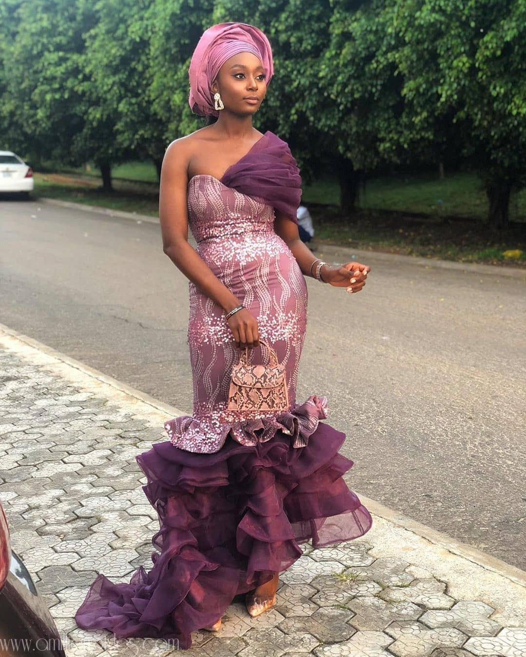 Latest Nigerian Lace Styles and Designs-Volume 15