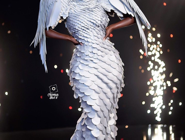 You Are Not Ready For This Nana Akua Addo's Fallen Angel Look
