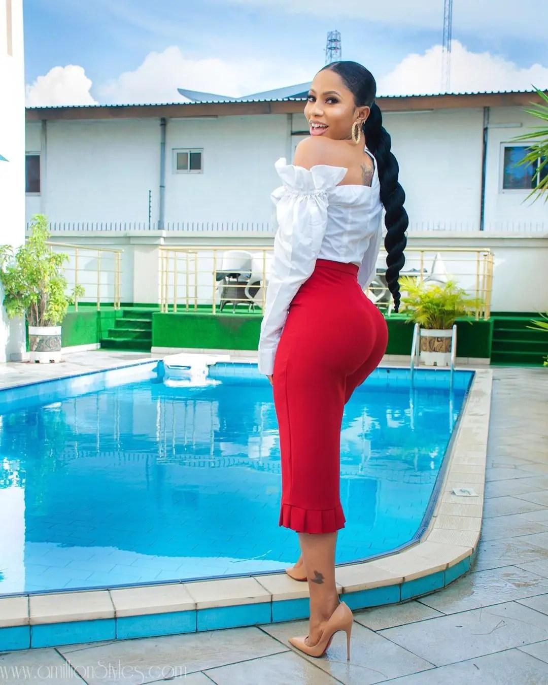 "BBN 4 ""Pepper Dem"" Winner, Mercy Eke Stuns In Outfits By Tubo"