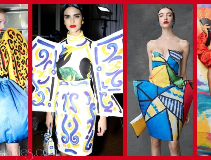 Moschino Heats Things Up With Some Picasso-Inspired Designs For Spring/Summer 2020