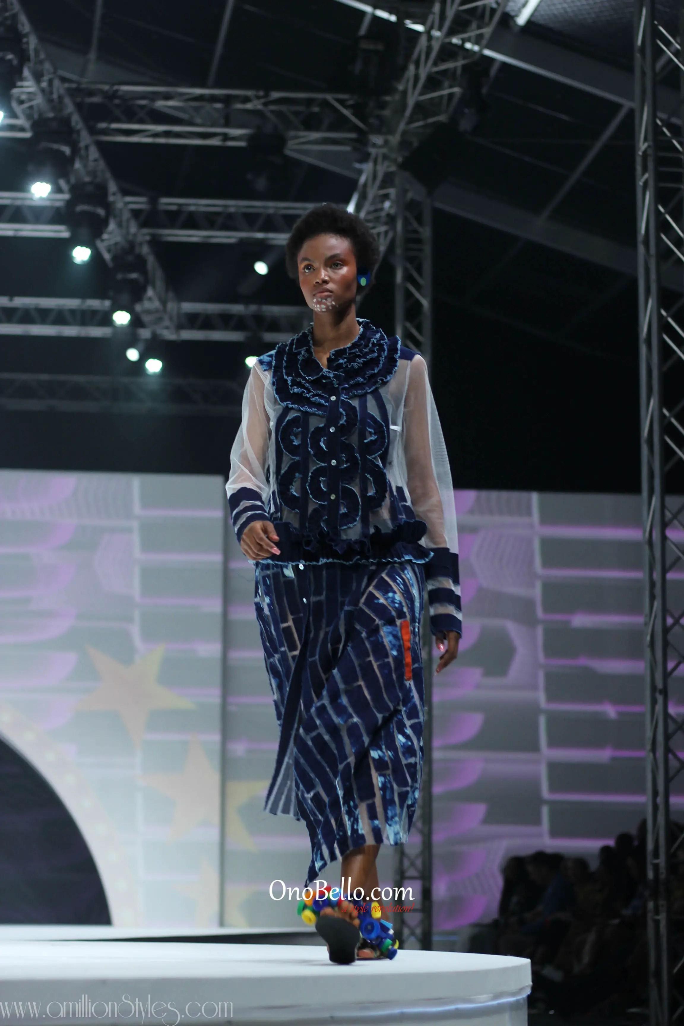 GTBank Fashion Weekend Day 1 Runway Fashion-Nkwo