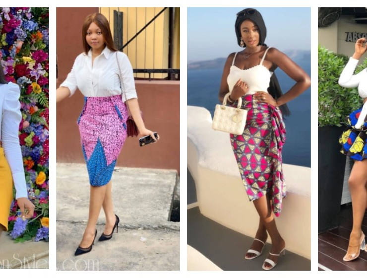 8 Hawt Ankara Skirts For The Weather