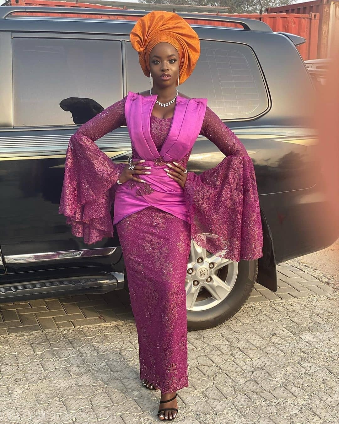 Let's See The 14 Best Lace Asoebi Styles This Week Had To Offer