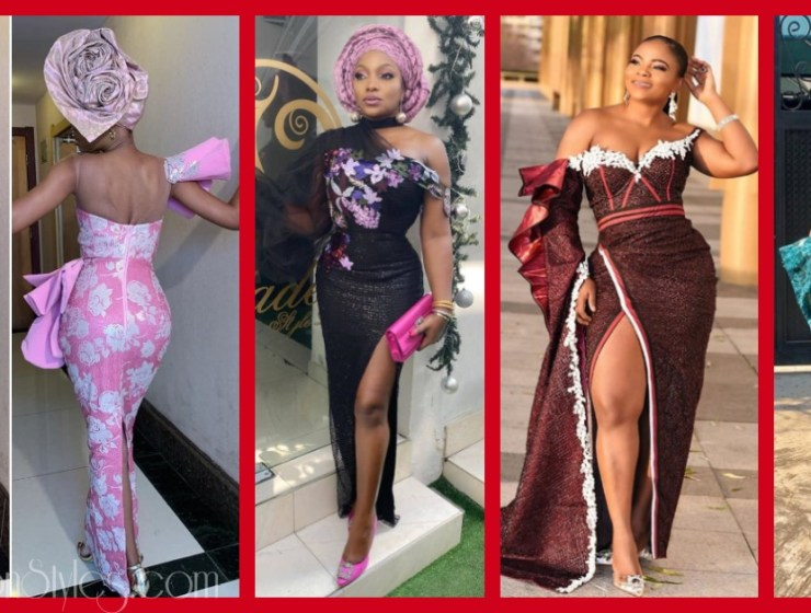 Latest Nigerian Lace Styles and Designs Volume 1