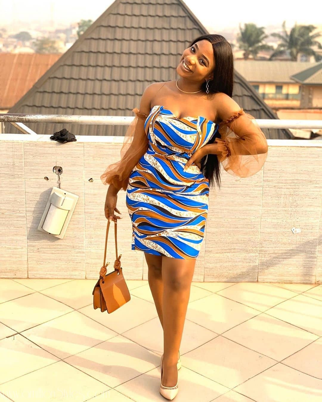 9 Short Ankara Dresses For Women Who Love To Show Legs