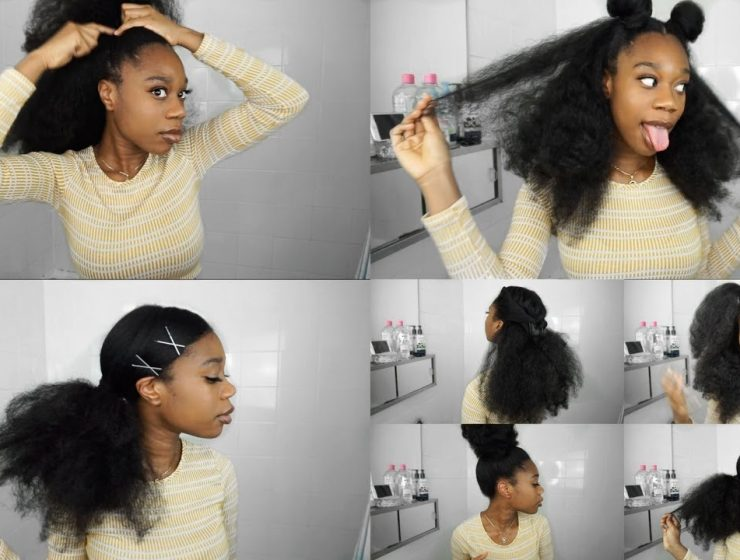13 Hairstyles For Long Natural Hair