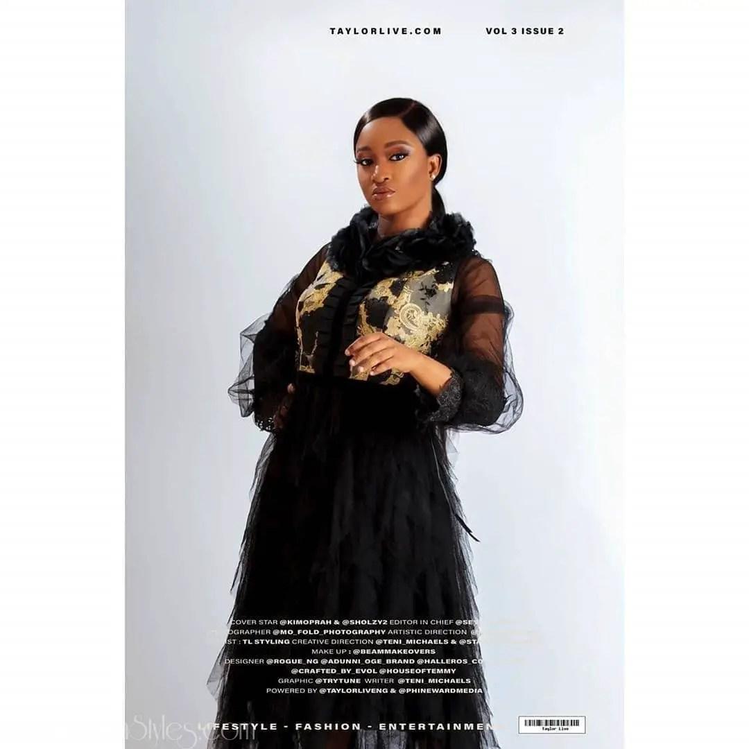 Kim Oprah And Omashola Heat Up Taylor Live Magazine Cover