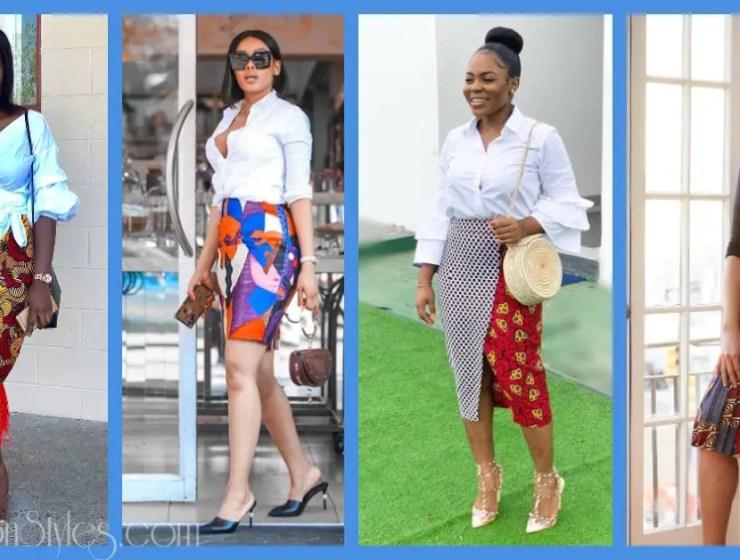 You'll Definitely Say Yes To These 9 Stylish Ankara Skirts