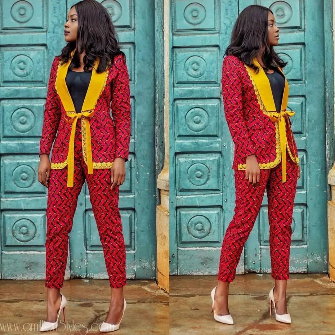 11 Beautiful Ankara Suits On Fireeee!!