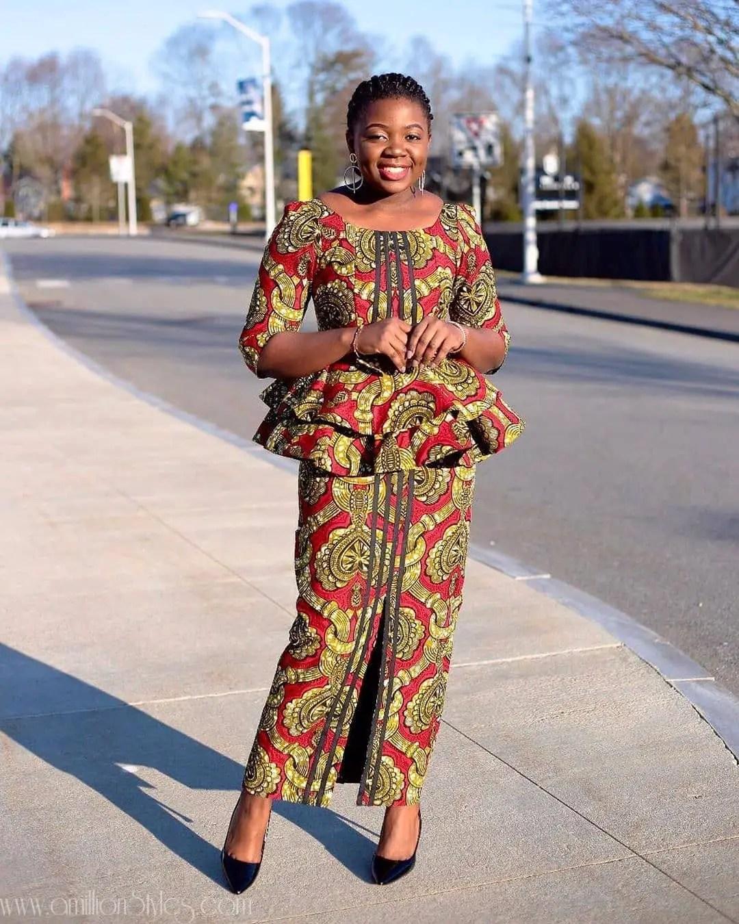 The 15 Latest Ankara Styles For Women Wey Sabi