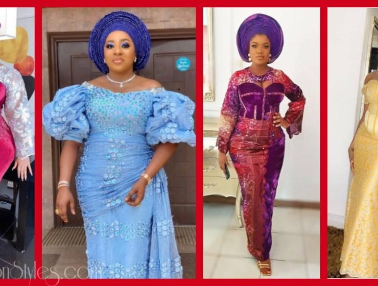 Latest Nigerian Lace Styles and Designs-Volume 27