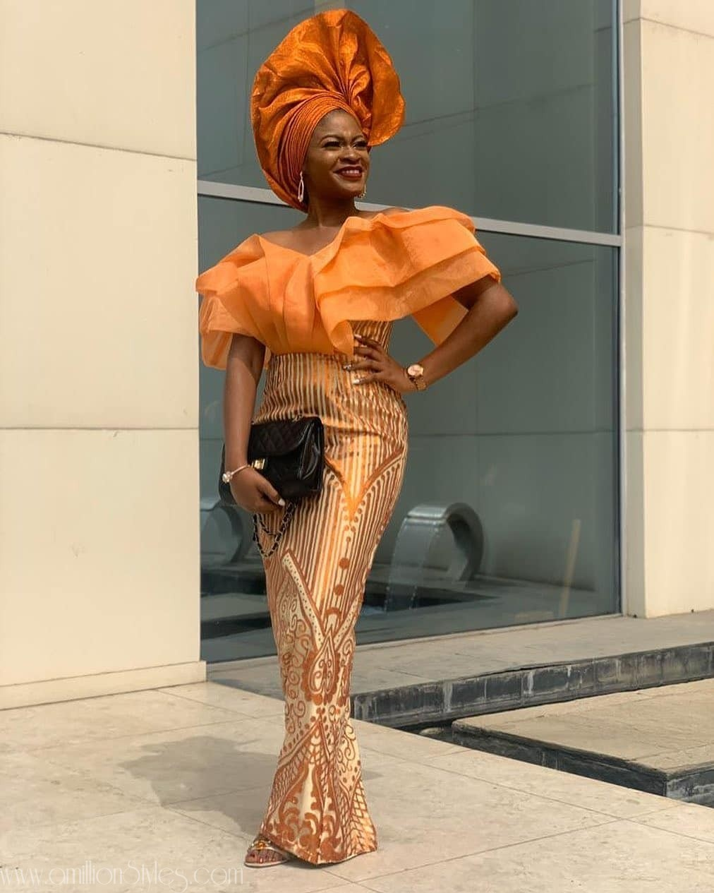 Latest Nigerian Lace Styles and Designs-Volume 31