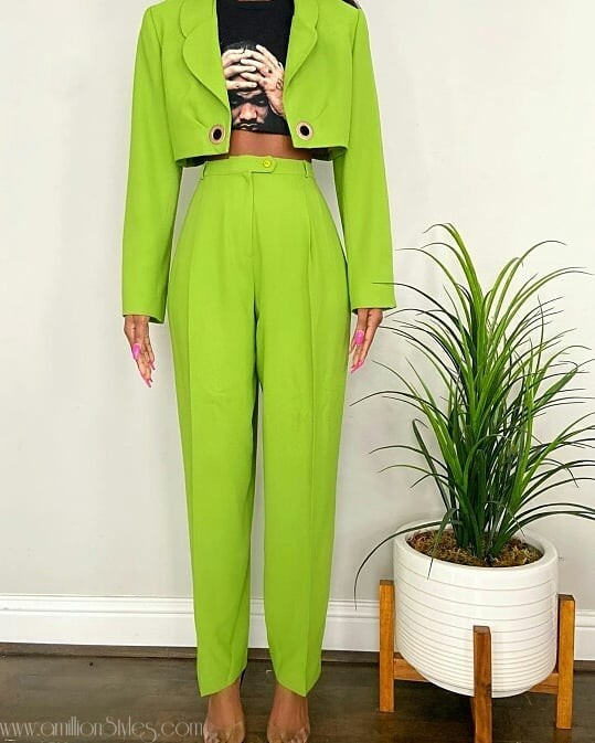 This Must Be The Most Perfect Three Piece Suit For Women, Ever!