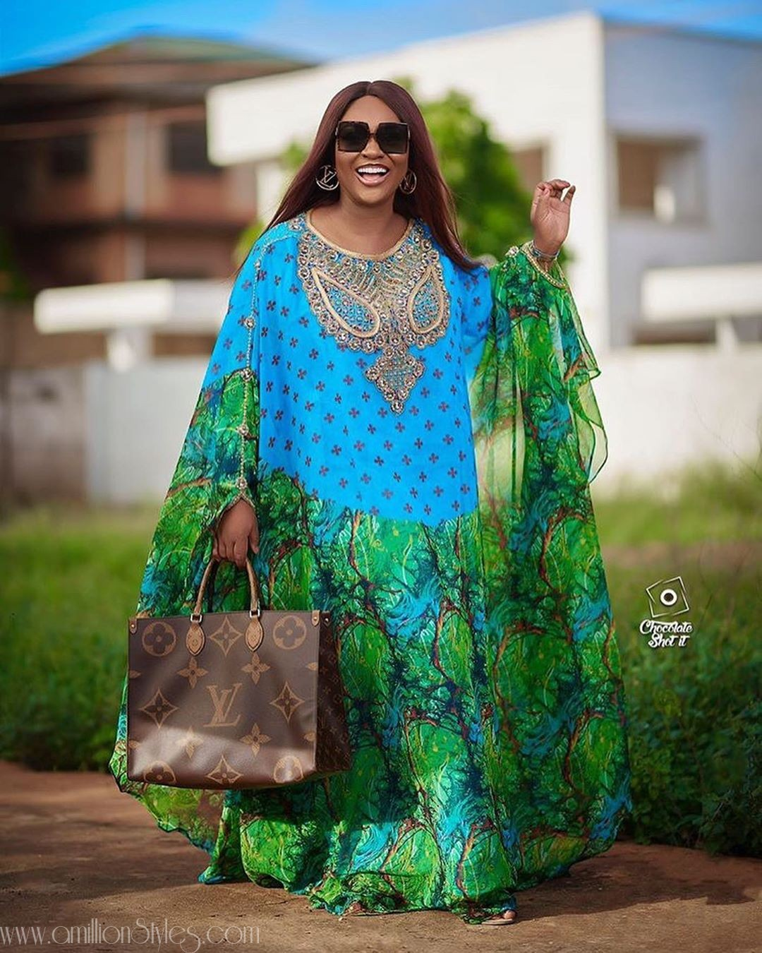 Jackie Appiah Gives Off Rich Aunty Vibes In Green Embellished Gown