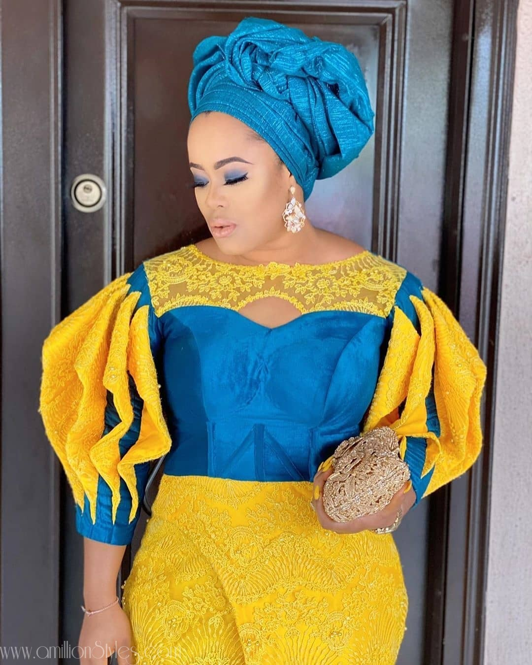 Exquisite Nigerian Lace Asoebi Styles-Volume 1