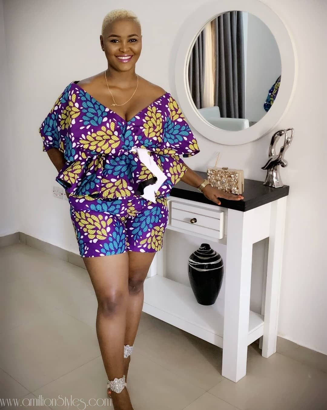 8 Beautiful Ankara Coordinate Styles For July