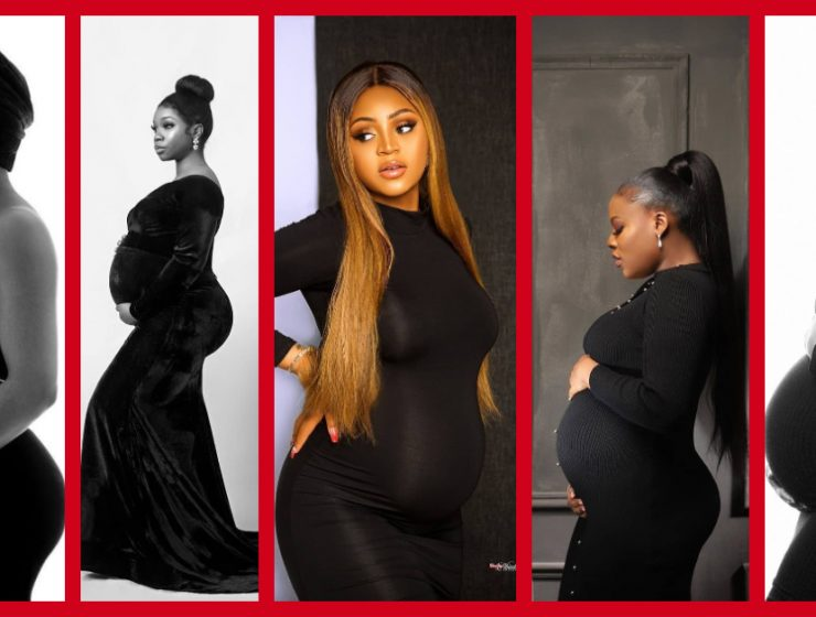 Would You Rock Black For Your Maternity Photo-shoot?