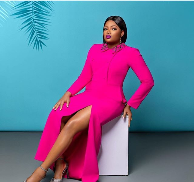 Funke Akindele-Bello Is Stunning In Pink