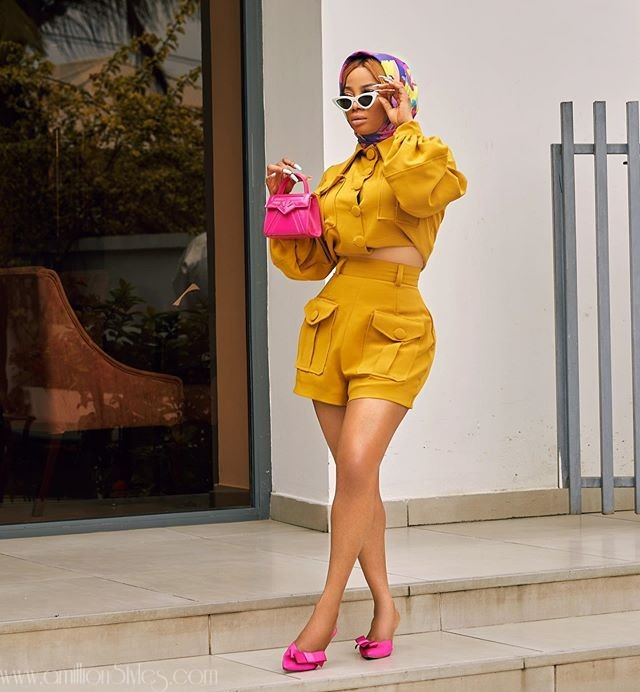 Let's Look At Some Of Toke Makinwa's Casual Outfits