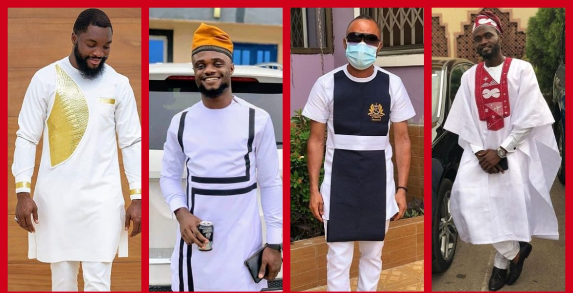 Get Inspiration From These White Atiku Traditional Styles For Men