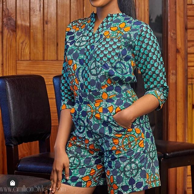 10 Top And Trousers Ankara Coordinate Styles For Ladies