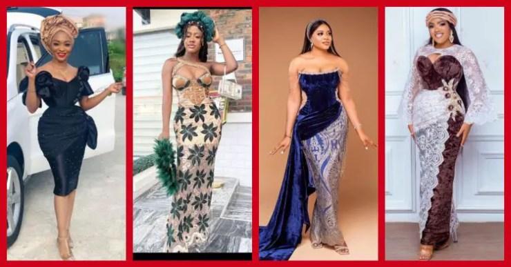Exquisite Nigerian Lace Asoebi Styles-Volume 26