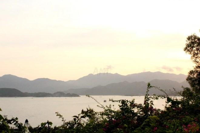View on Nha Trang coastline