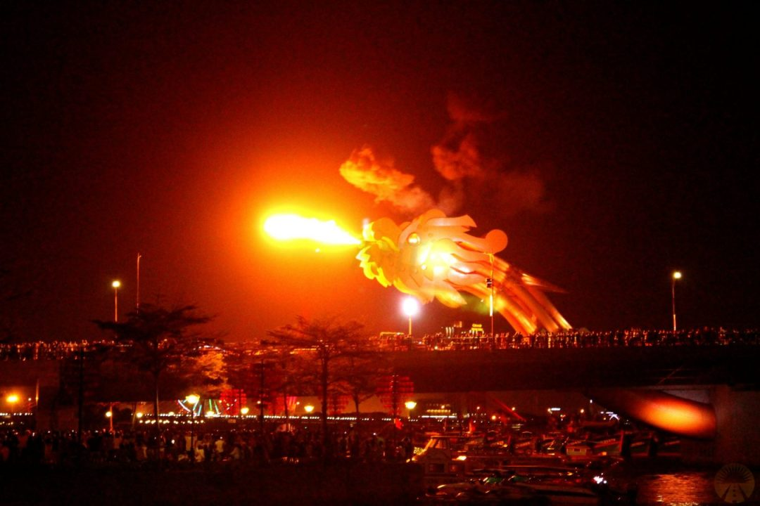 cosa fare a da nang Dragon Bridge fuoco