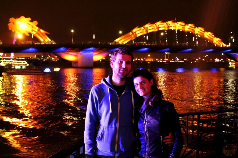 At Dragon Bridge