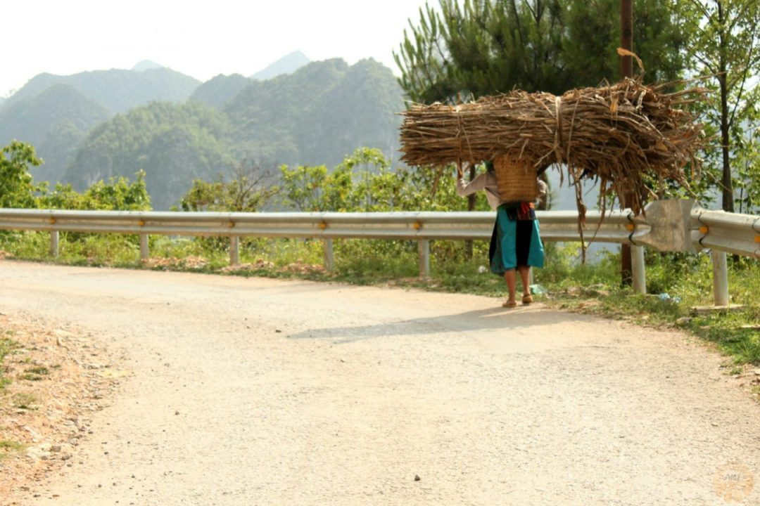 Local woman at Meo Vac, Ha Giang how to go