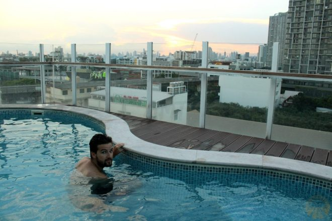 Moments of relax on the rooftop