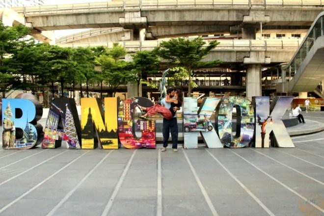 #worldkissproject in Bangkok