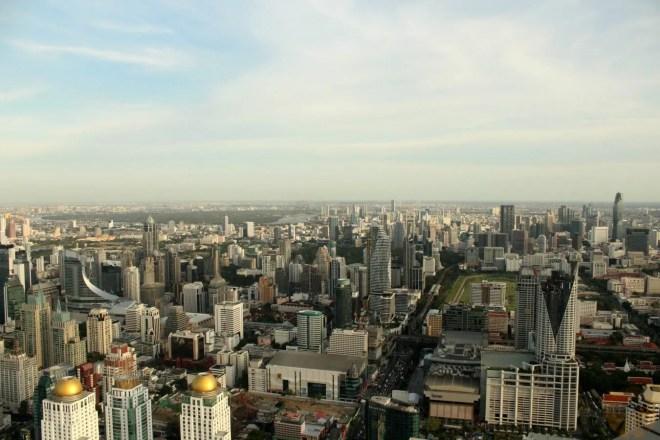 Bangkok from the top of Baiyoke Tower