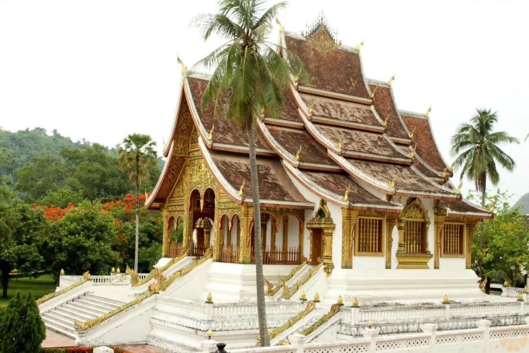 Haw Pha Bang temple