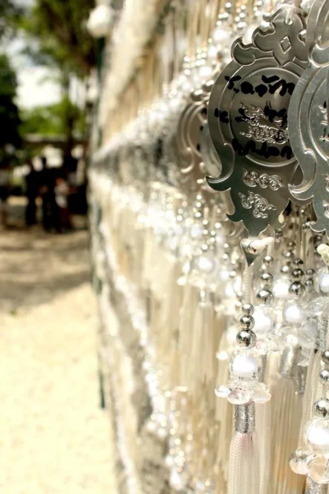 Prayer pendants