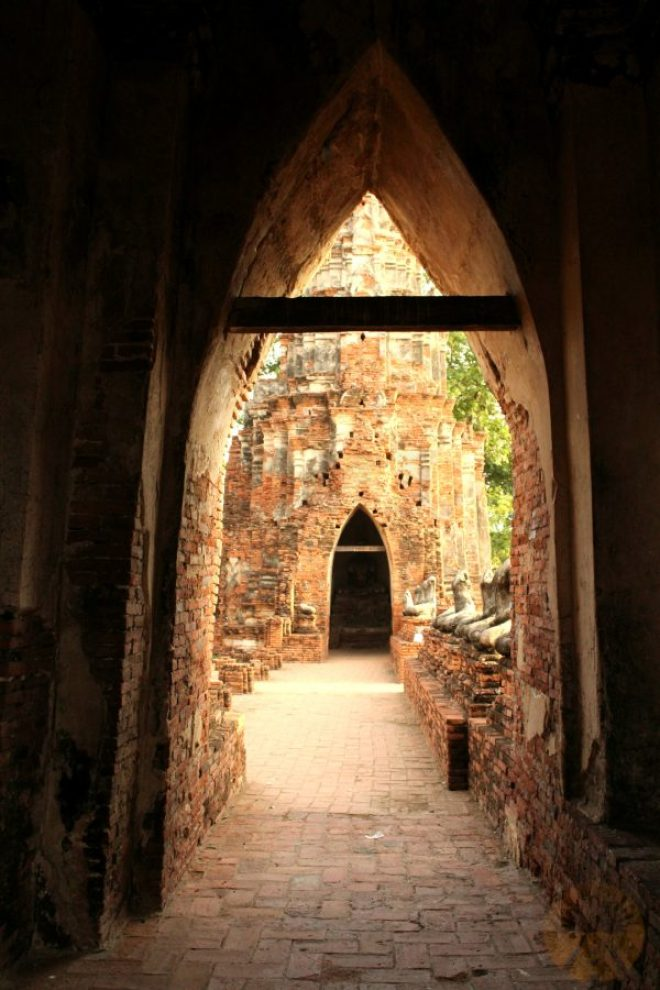 Discovering hidden passages at Wat Chai Watthanaram
