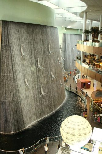 Waterfall Dubai Mall