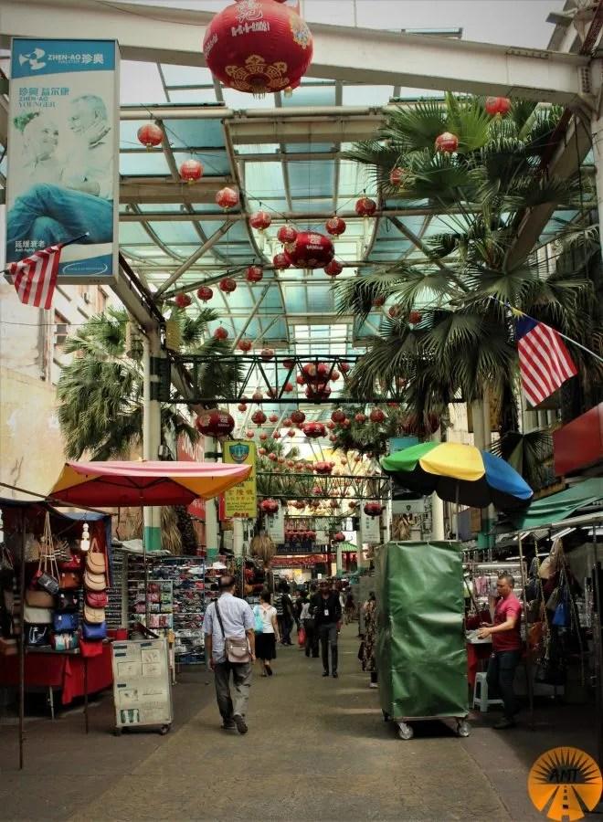 Chinatown, Petaling Street, Kuala Lumpur, Malesia