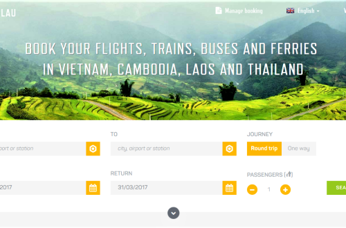 how to book train in Vietnam