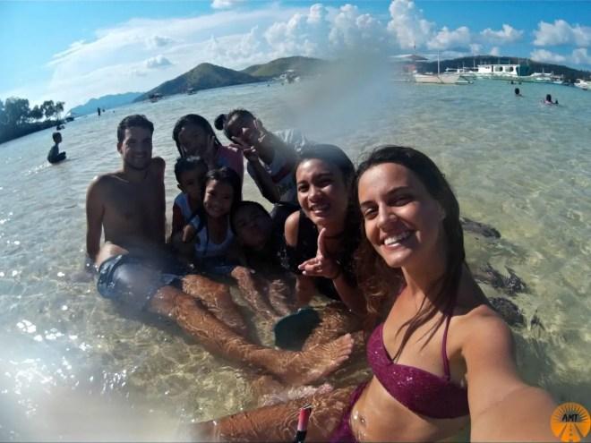 CYC free beach coron how to go