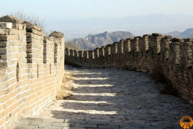 muraglia cinese parte nuova da visitare