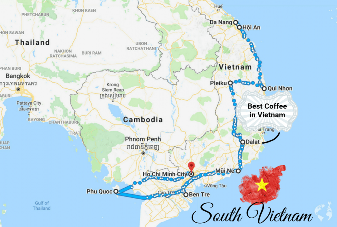 itinerary south vietnam what to see