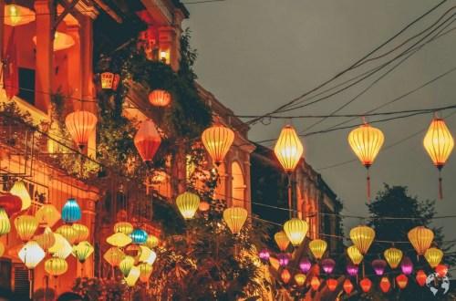 Hoi An lanterns by night