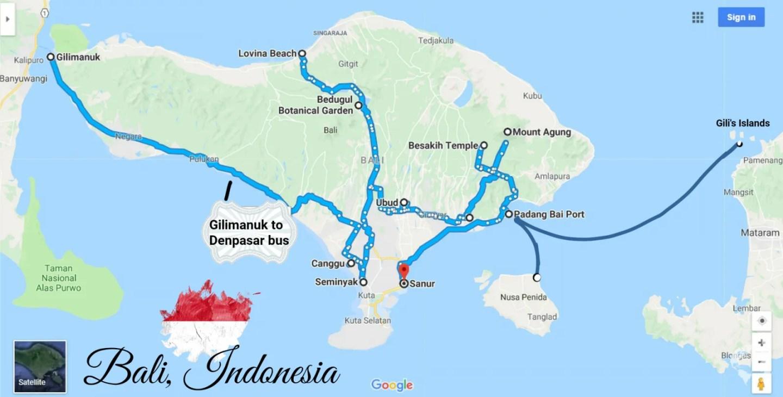 bali itinerary guide