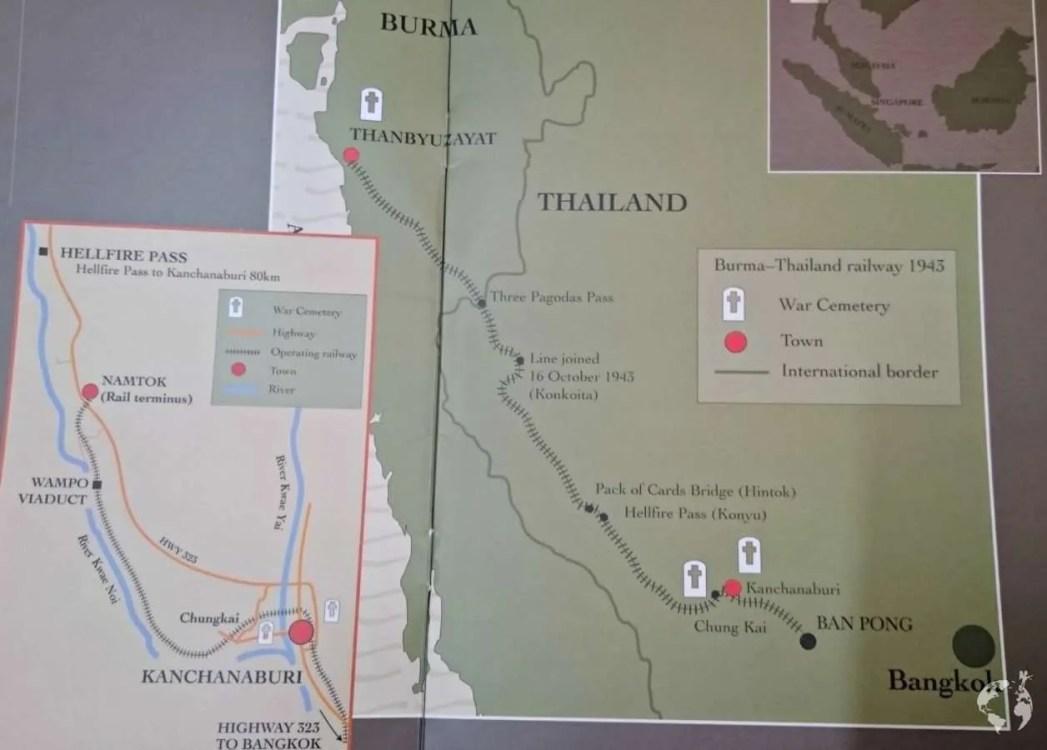 Death railway thailand how to reach