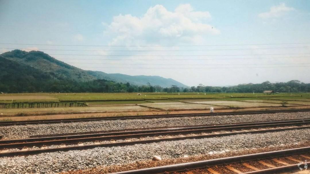 Java in treno